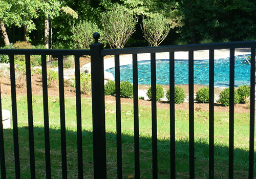 Custom Metal Pool Fence In Northern Virginia photo