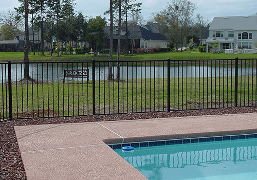 Northern Virginia Pool and Lake Metal Fence photo
