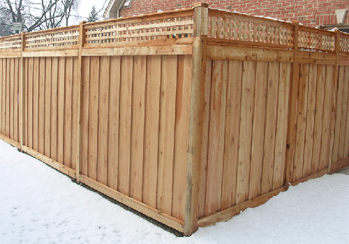 NOVA Wood Fence photo