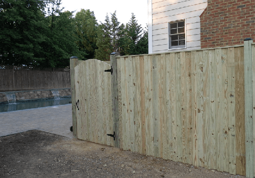 Northern Virginia Wood Fences project photo