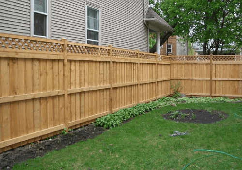 N. VA Fence Contractor wood fencing photo