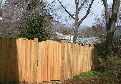 Wood Fences in NOVA photos