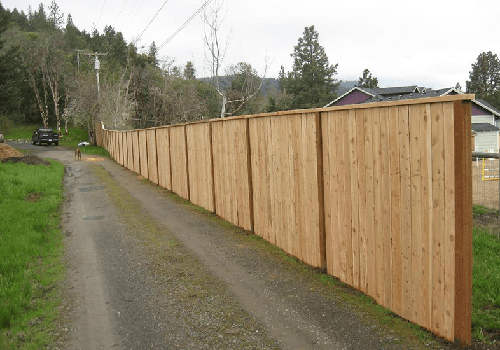 Custom Wood Fences in No. VA photo